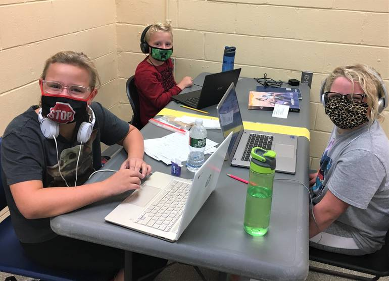 Remote learning at the Red Bank Family YMCA