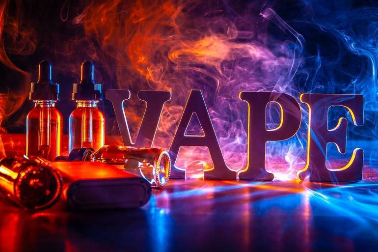 Vaping Show and Tell Zoom Presentation