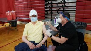 vaccination at Trinitas Regional Medical Center