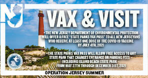 Beginning Today, Free Entrance to State Parks For Those Vaccinated