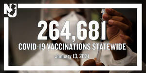 Murphy Announces NJ Residents Over Age 65 Can Get COVID Vaccine Starting Jan. 14