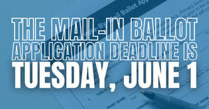 NJ Primary Election, Vote By Mail, June 8 Election