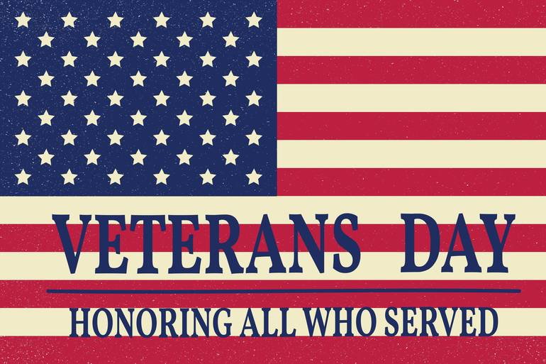 Veterans Day is Monday