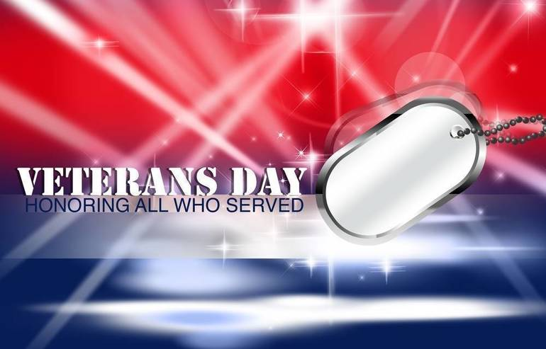 What's Open And What's Closed On Veterans Day in East Hanover and Florham Park