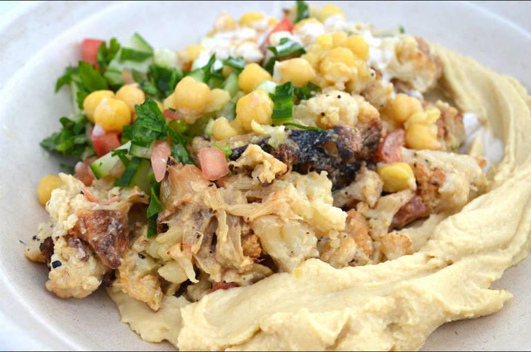 Vegan Shawarma's Plant-Based Foods Recreate Tastes of an Israeli Childhood
