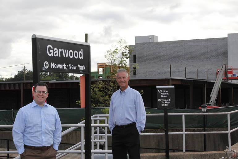 Vinnie and Russ Train Platform.JPG