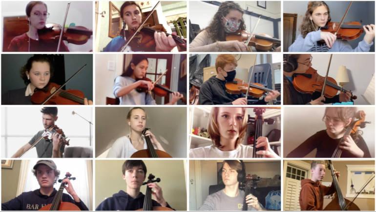 Violins against Violence