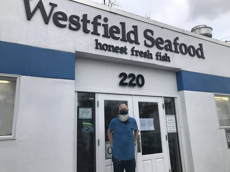 Westfield Seafood's Longtime Fish Monger Retiring, Selling Shop