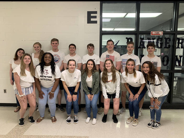 Newton Strong! Hundreds Participate in Whiteout Day for Lexi