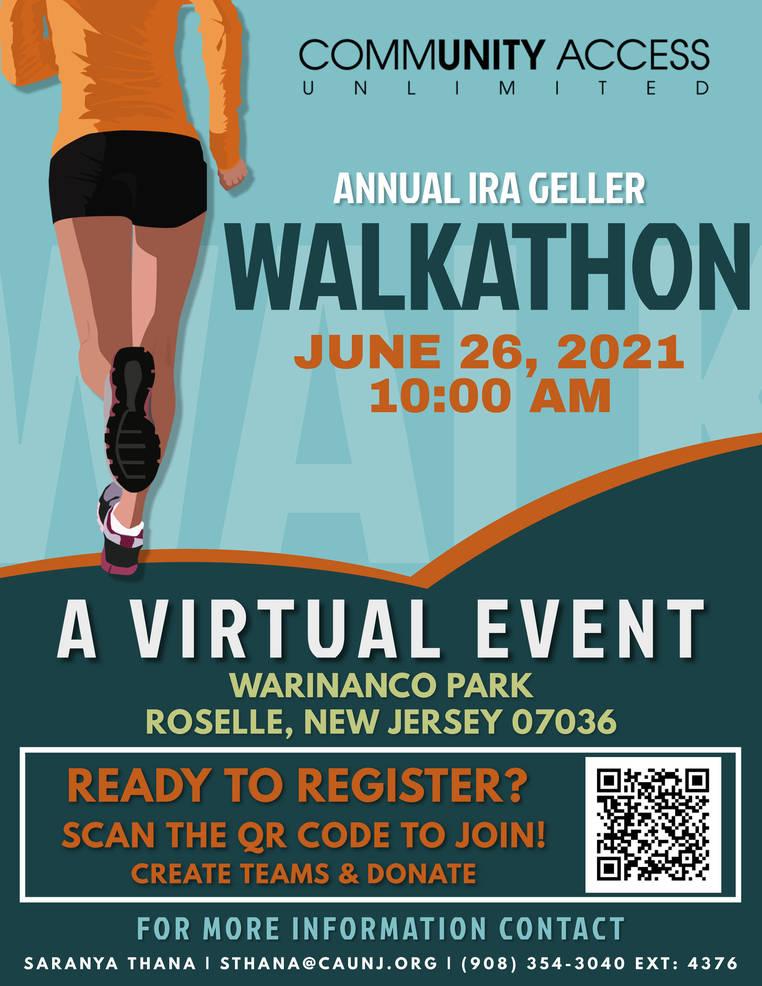 Register for the Annual Ira Geller Walkathon!