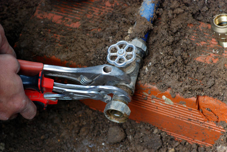 Work Commences on New Water Mains Around Union