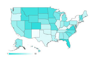WalletHub ranked the Best and Worst States to Retire. New Jersey finished last.