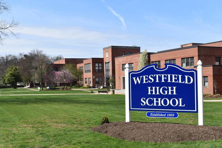 WestfieldHighSchoolSignPic.JPG