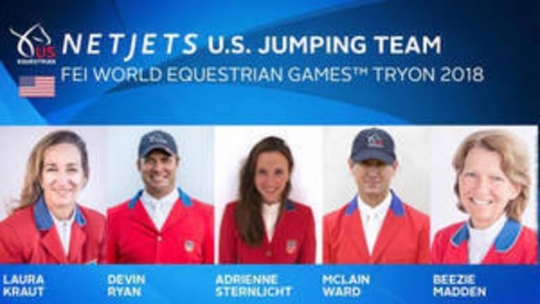 Ward, Ryan Make Show Jumping Team For World Equestrian Games