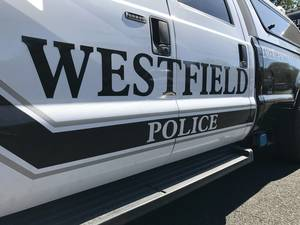 A Westfield police department vehicle is seen in this file image.