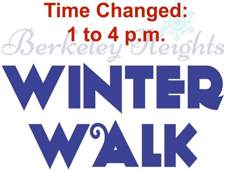Weather Forecast Moves Berkeley Heights Winter Walk To 1 4 P M On Saturday Tree Lighting Immediately Follows Tapinto