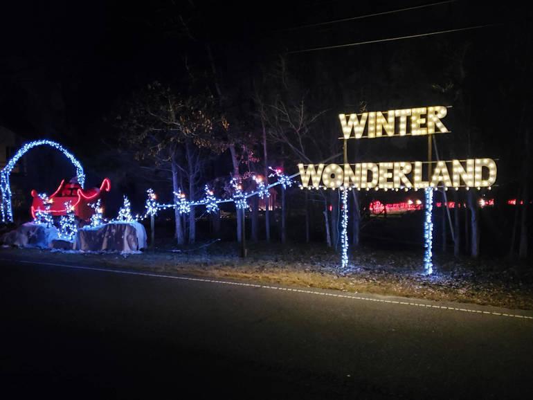 Local Man Creates Winter Wonderland For All To Enjoy