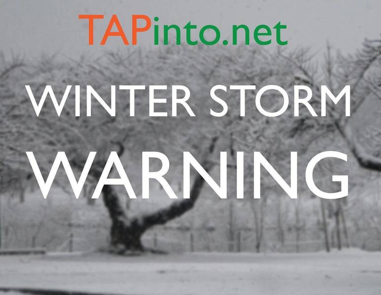 Winter Storm Warning for Fanwood-Scotch Plains; School Cancelled Monday in SPFK12 District