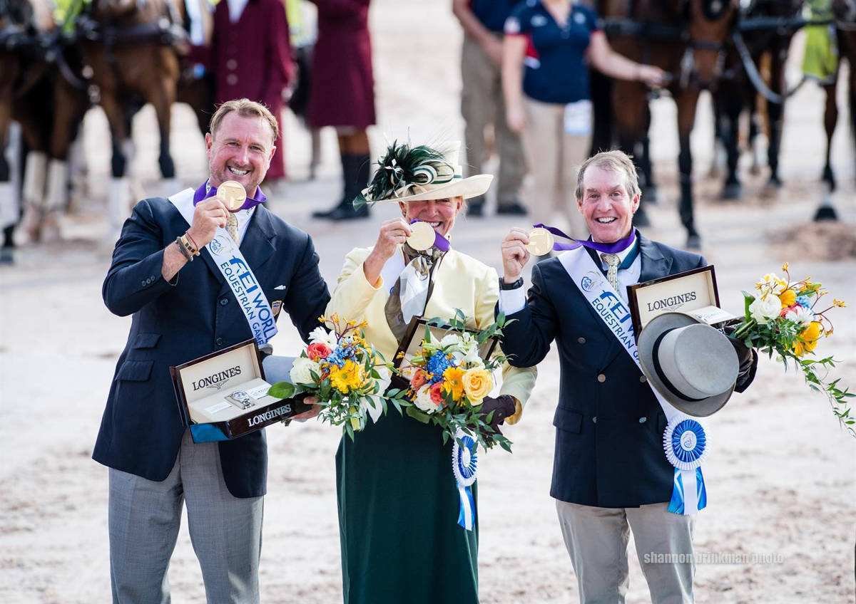 world equestrian games driving gold.JPG