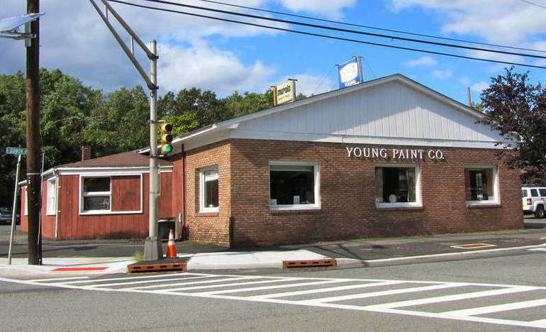 Young's Paint Building on the corner of South Ave. and Terrill Rd. in Fanwood.