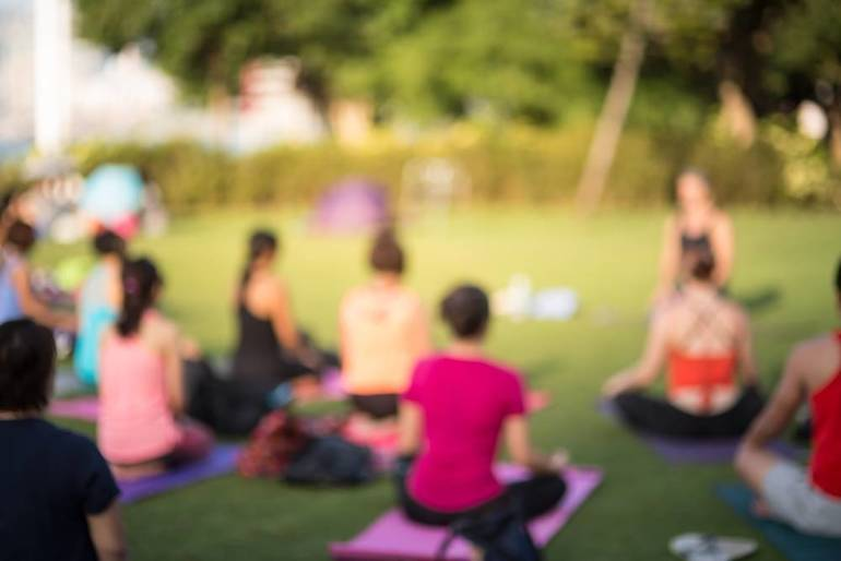 Register Today for Yoga In The Park With Nutley's Kim-Stevens Redstone