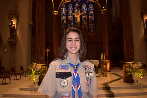 Sparta Eagle Scout Zoe Rizzo Creates Little Free Libraries