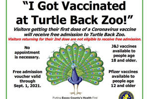 Turtle Back Zoo to Hold Second Vaccination Event on June 26